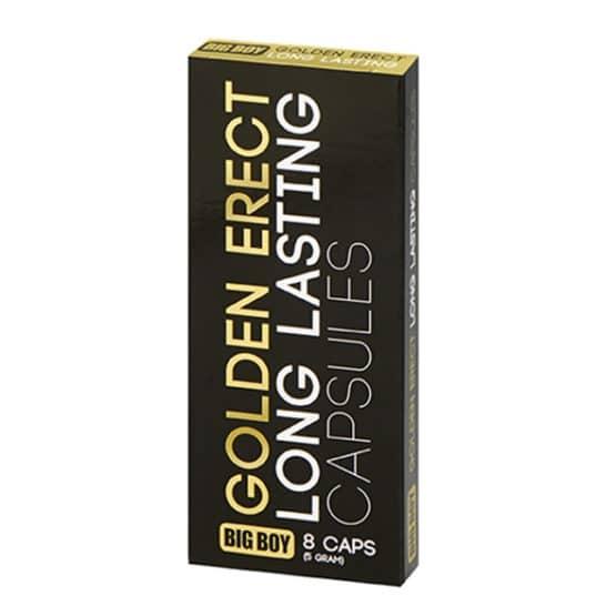 Big boy-Golden erect 8 gélules pour l érection Secret toy