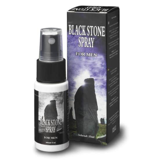 Black stone-spray retardant éjaculation Secret toy