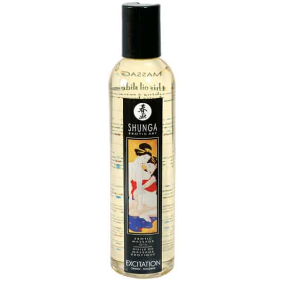 Shunga-Huile de massage Exitation 250 ml Secret toy