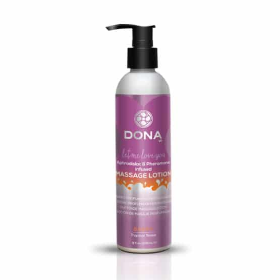 Dona-Lotion de massage tropical 250 ml Secret toy