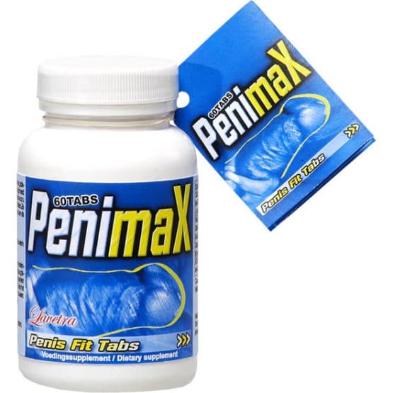 Penimax - développement du pénis boite de 60 gélules Secret toy