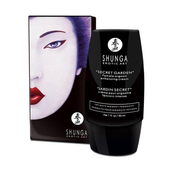 Shunga-Crème clitoridienne Secret garden female orgasm Secret toy