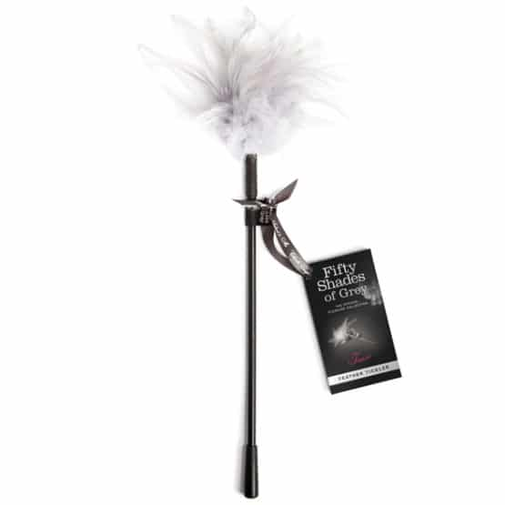Fifty shades of grey-Plumeau érotique en véritable plume Secret toy
