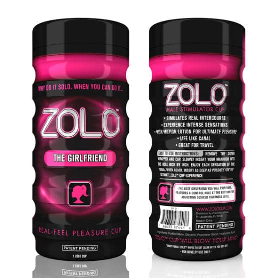 ZOLO-Masturbateur The Girlfriend réutilisable a volonté Secret toy