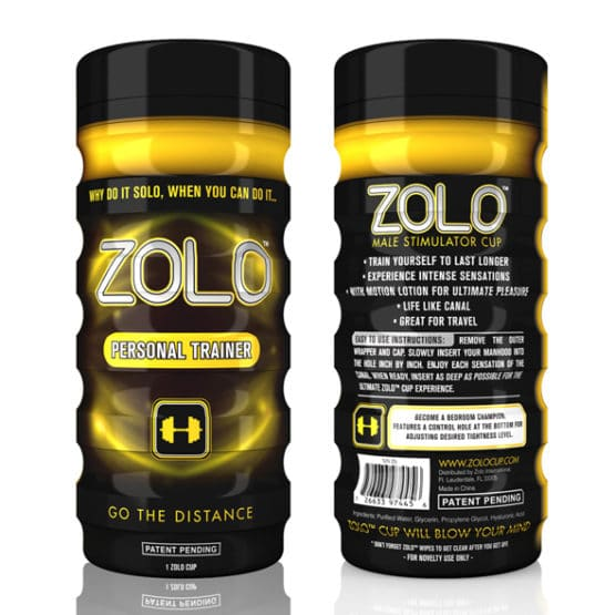 ZOLO-Masturbateur Homme Personal trainer Secret toy