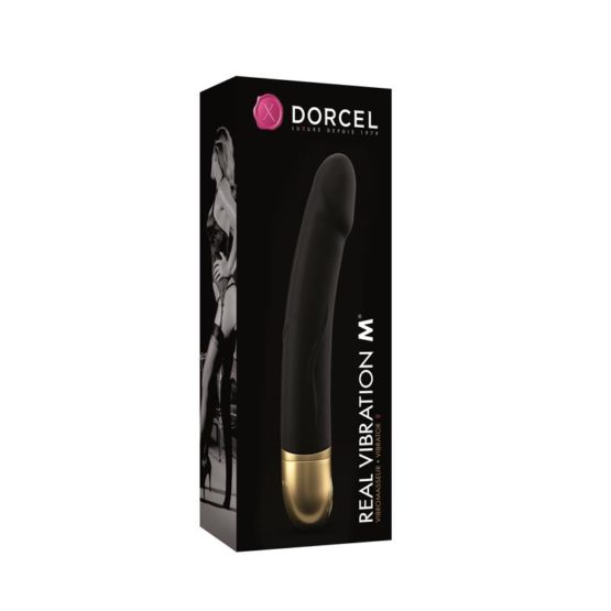 Dorcel-Vibromasseur Real vibration M version noir/or Secret toy