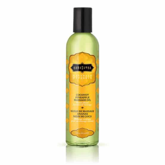 Kama sutra-Huile de massage naturelle coco ananas 236 ml Secret toy