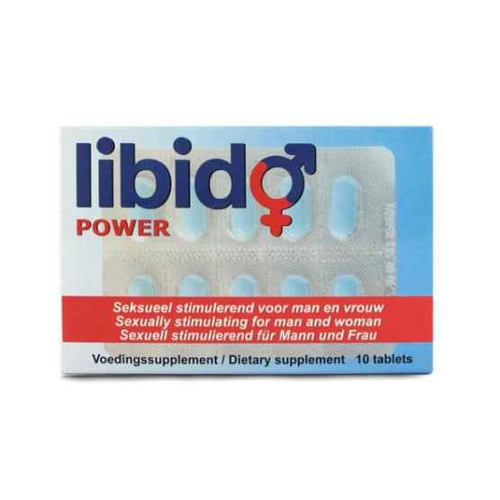 Libido power- Boite de 10 gélules pour l érection-Secret toy