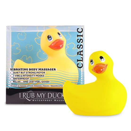 Big tease toys-Mini canard vibrant I rub my duckie 2.0-Secret toy