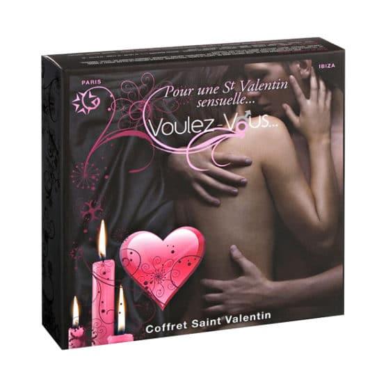 Voulez vous-Coffret St Valentin envoûtant et aphrodisiaque-Secret toy