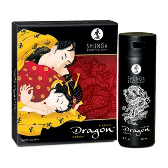 Shunga-Crème de virilité Dragon 60 ml pour hommes et femmes-Secret toy