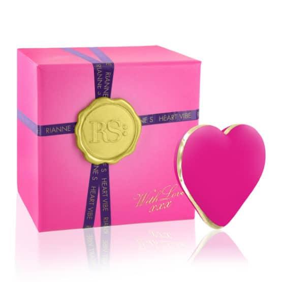 Riannes-Coeur vibrant rechargeable Icons-Secret toy