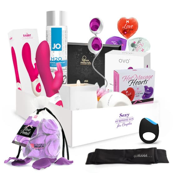 Surprise sex box-kit complet pour couples-Secret toy