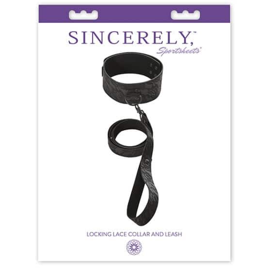 Sportsheets-Kit collier et laisse BDSM-Secret toy