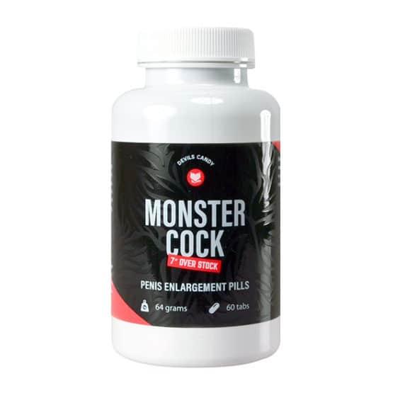 Devils Candy-Monster cock 60 gélules pour le développement-Secret toy