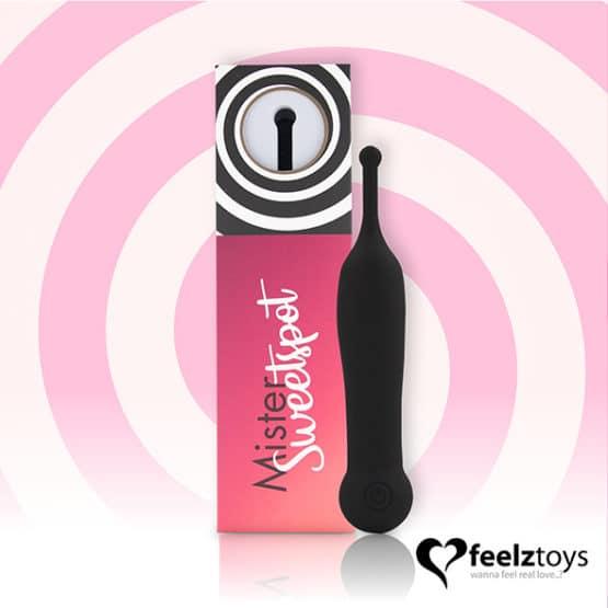 Feelztoys-Pointe vibrante stimulation clitoridienne-Secret toy