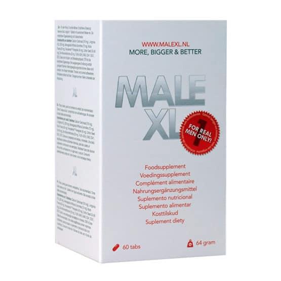 Male XL-Sex booster 60 gélules développement et érections-Secret toy