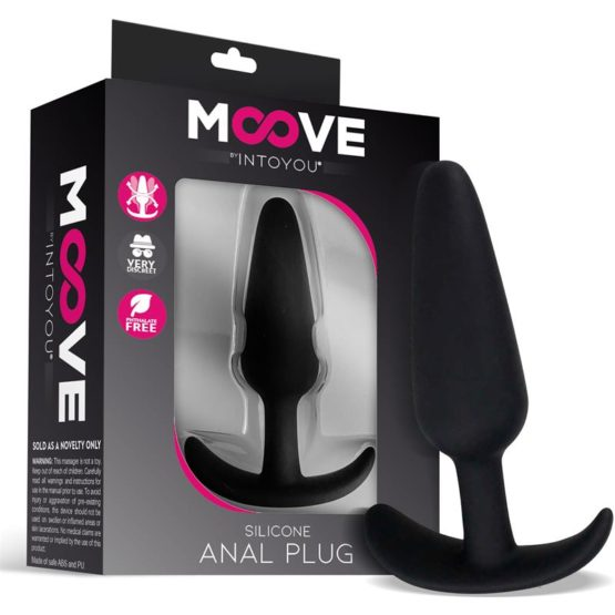 Moove-Plug anal en silicone taille small-Secret toy